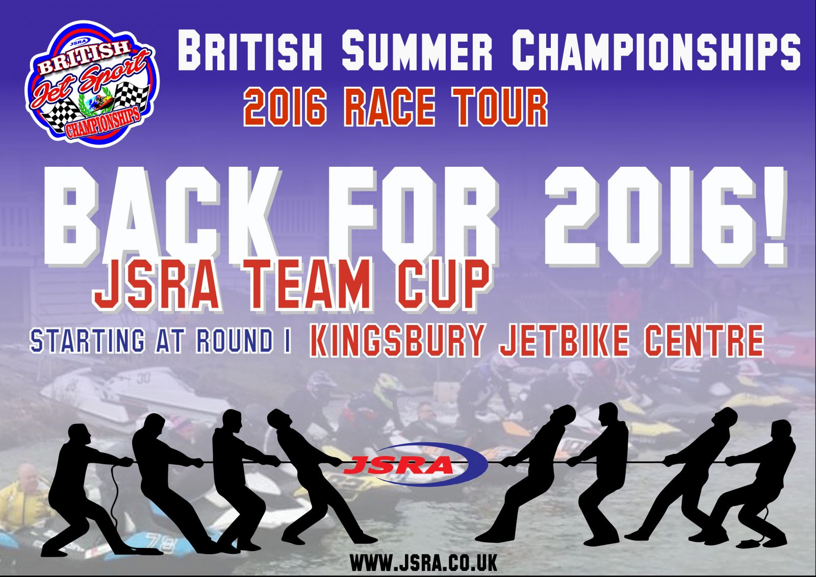 BACK FOR 2017!! The JSRA CLUB CUP!!