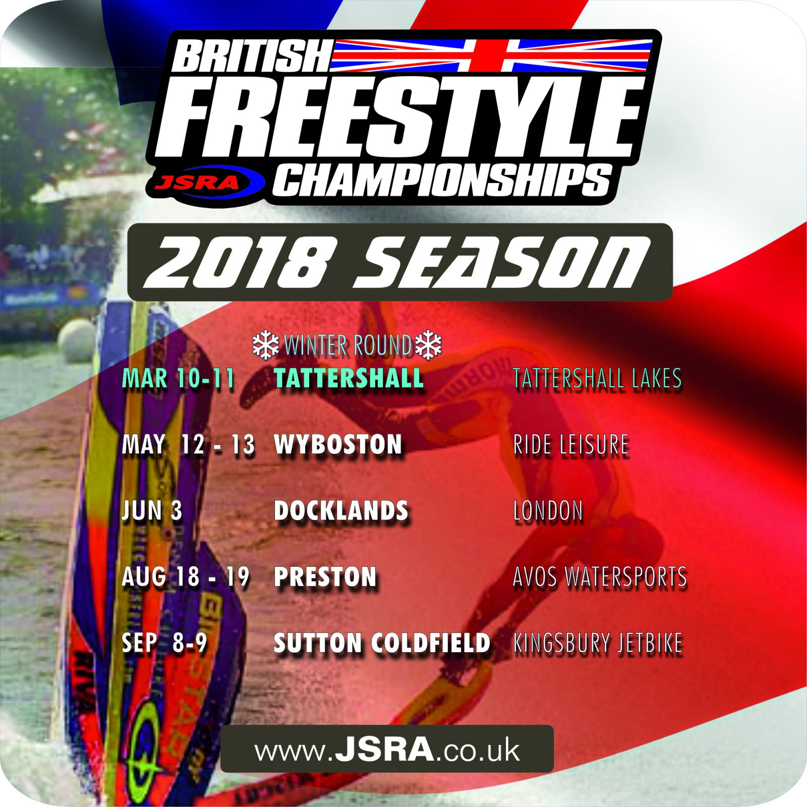 2018 British Freestyle Championships Dates
