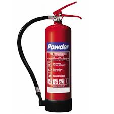Mandatory 4kg Powder Fire Extinguisher