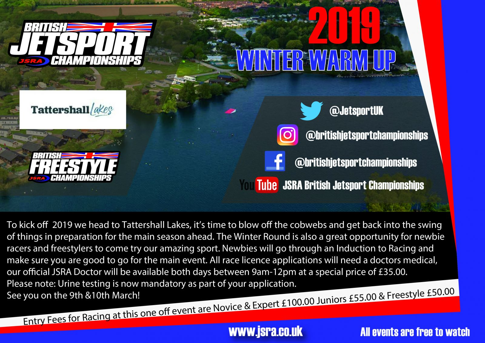 2019 Winter Warm Up At Tattershall Lakes 9th & 10th March